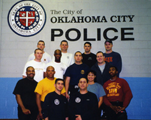 The City of Oklhaoma City Police - After Krav Maga training