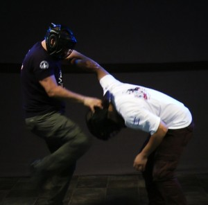 Krav Maga Head Kick by Guy Dar