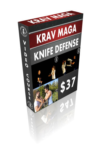 Krav Maga Knife Defense DVD Box