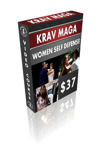 DVD BOX - Krav Maga Women Self Defense Video Course