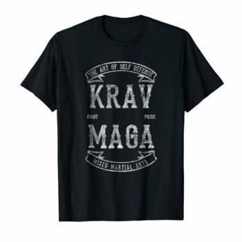 Art Of Krav Maga MMA Martial Arts Vintage Shirt